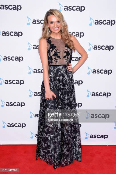 Singer Carly Pearce attends the 55th annual ASCAP Country Music awards at the Ryman Auditorium on November 6 2017 in Nashville Tennessee