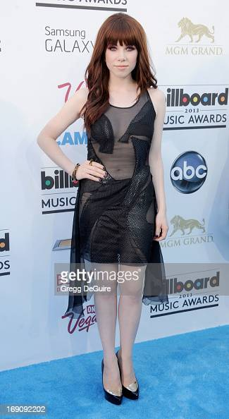 Singer Carly Rae Jepsen arrives at the 2013 Billboard Music Awards at MGM Grand Garden Arena on May 19 2013 in Las Vegas Nevada