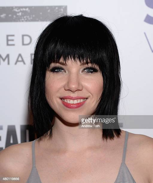 Singer Carly Rae Jepsen attends Freedom to Marry Celebration Event at Cipriani Wall Street on July 9 2015 in New York City