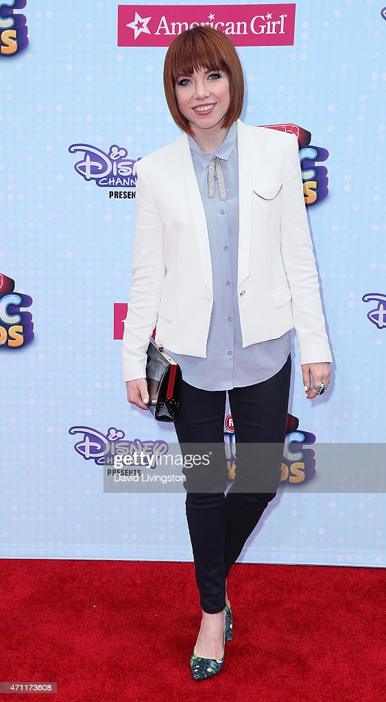 Singer Carly Rae Jepsen attends the 2015 Radio Disney Music Awards at Nokia Theatre LA Live on April 25 2015 in Los Angeles California
