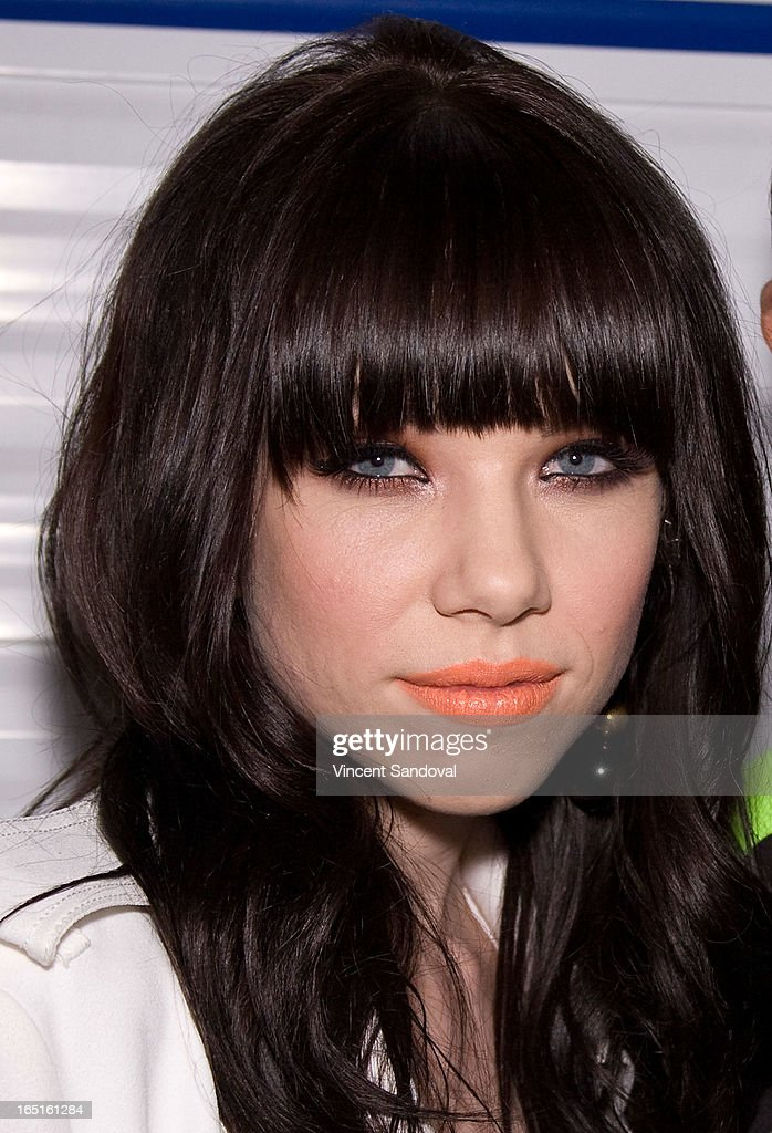 Singer Carly Rae Jepsen attends the Circus Xtreme T-Dance during Jeffrey Sanker presents White Party Palm Springs 2013 Day 3 at the White Party Park on March 31, 2013 in Palm Springs, California.
