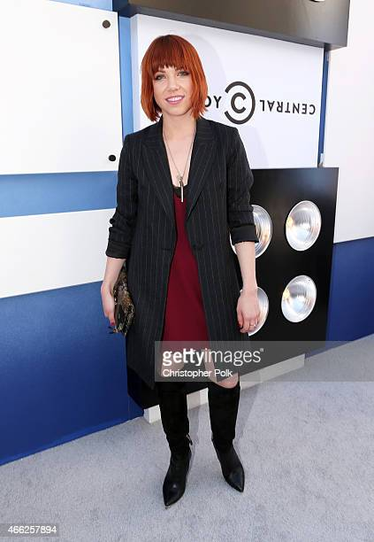 Singer Carly Rae Jepsen attends The Comedy Central Roast of Justin Bieber at Sony Pictures Studios on March 14 2015 in Los Angeles California