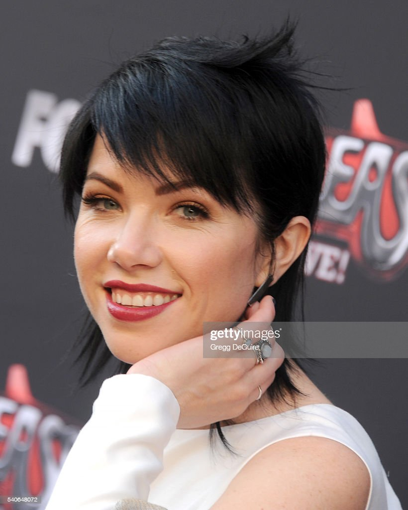Singer Carly Rae Jepsen attends the For Your Consideration Event for FOX's 'Grease: Live' at Paramount Studios on June 15, 2016 in Los Angeles, California.