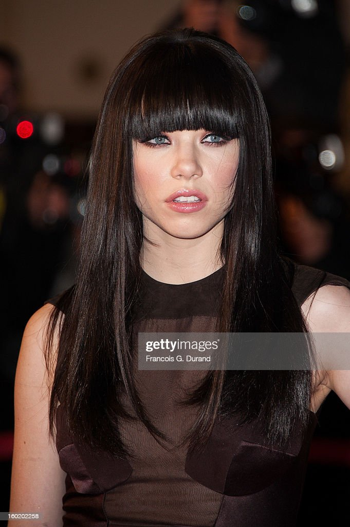 Singer Carly Rae Jepsen attends the NRJ Music Awards 2013 at Palais des Festivals on January 26, 2013 in Cannes, France.