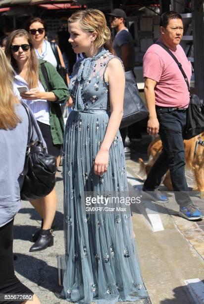 Singer Carly Rae Jepsen is seen on August 19 2017 in Los Angeles California