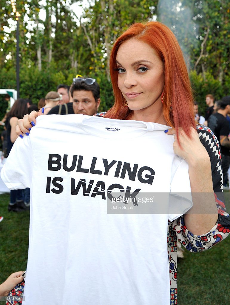 Singer Carmit Bachar attends the Petit Maison Chic fashion show honoring Operation Smile on November 21, 2015 in Beverly Hills, California.