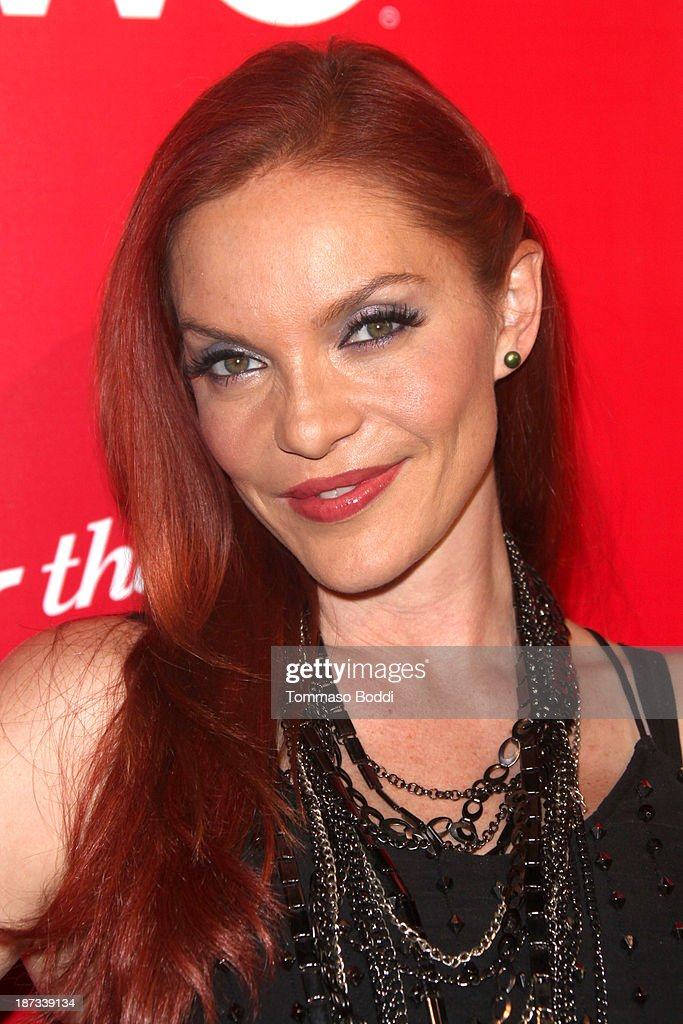 Singer <a gi-track='captionPersonalityLinkClicked' href=/galleries/search?phrase=Carmit+Bachar&family=editorial&specificpeople=688043 ng-click='$event.stopPropagation()'>Carmit Bachar</a> attends the WE tv's premiere party for 'The LYLAS' held at the Warwick on November 7, 2013 in Hollywood, California.
