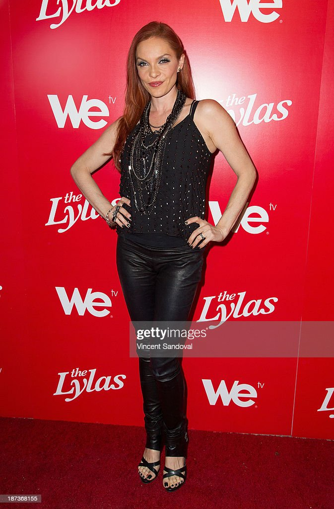 Singer <a gi-track='captionPersonalityLinkClicked' href=/galleries/search?phrase=Carmit+Bachar&family=editorial&specificpeople=688043 ng-click='$event.stopPropagation()'>Carmit Bachar</a> attends WE tv's premiere party for 'The LYLAS' at Warwick on November 7, 2013 in Hollywood, California.