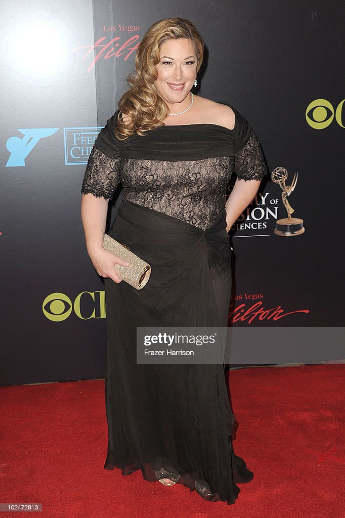 Singer Carnie Wilson arrives at the 37th Annual Daytime Entertainment Emmy Awards held at the Las Vegas Hilton on June 27, 2010 in Las Vegas, Nevada.