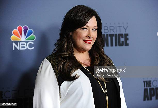 Singer Carnie Wilson attends the press junket For NBC's 'Celebrity Apprentice' at The Fairmont Miramar Hotel Bungalows on January 28 2016 in Santa...
