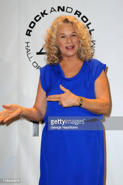 Singer Carole King attends the 25th Annual Rock And Roll Hall Of Fame Induction Ceremony at the Waldorf=Astoria on March 15 2010 in New York City