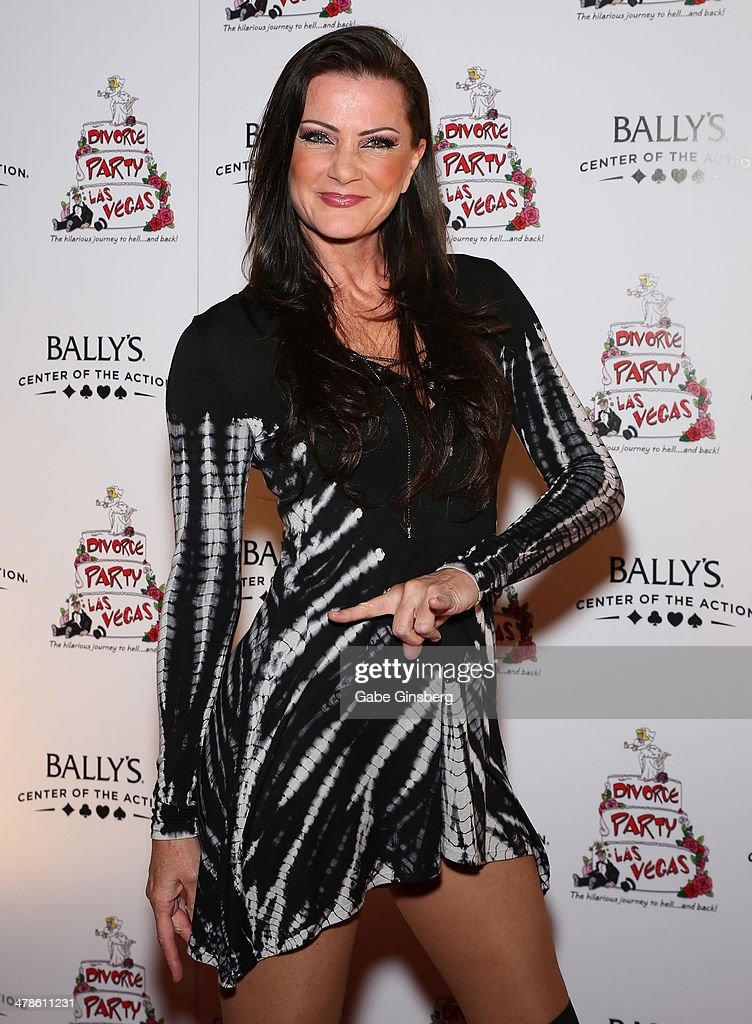 Singer Carol-Lyn Liddle of the show 'Raiding the Rock Vault' arrives at the Las Vegas premiere of 'Divorce Party' at the Windows Showroom at Bally's Las Vegas on March 13, 2014 in Las Vegas, Nevada.