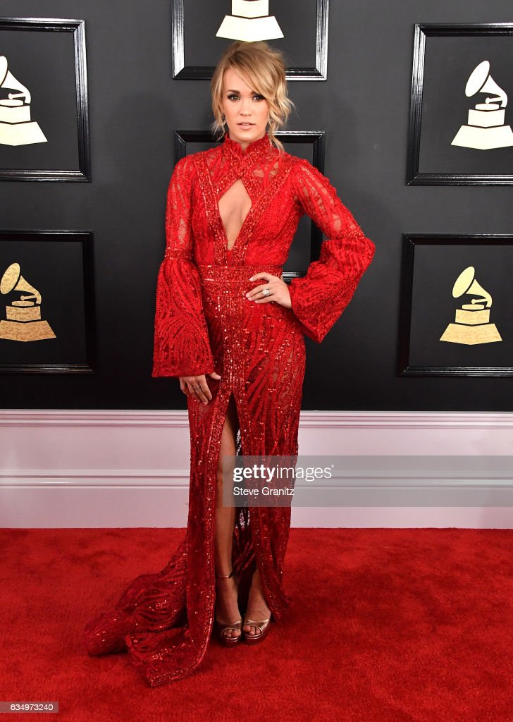 singer-carrie-underwood-attends-the-59th-grammy-awards-at-staples-on-picture-id634973240