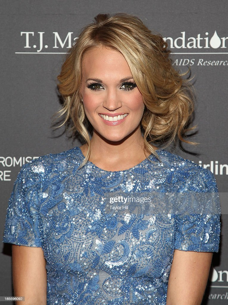 Singer <a gi-track='captionPersonalityLinkClicked' href=/galleries/search?phrase=Carrie+Underwood&family=editorial&specificpeople=204483 ng-click='$event.stopPropagation()'>Carrie Underwood</a> attends T.J. Martell Foundation's 38th Annual Honors Gala at Cipriani 42nd Street on October 22, 2013 in New York City.