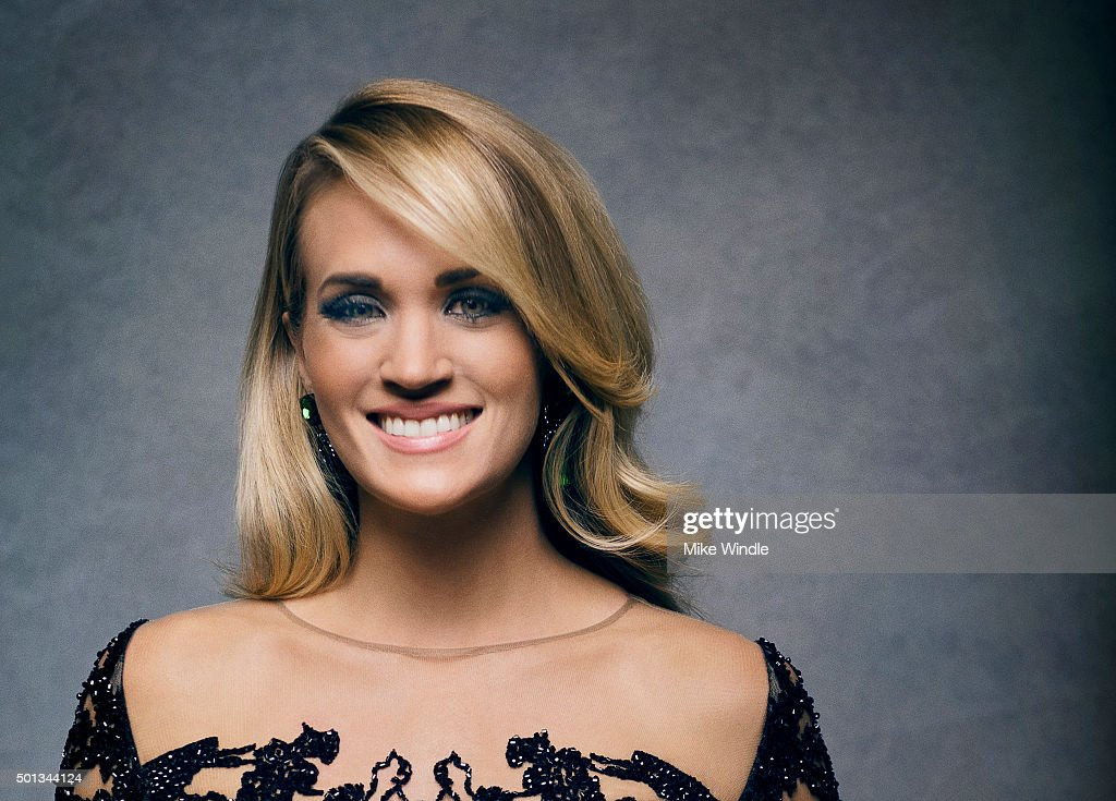 Singer <a gi-track='captionPersonalityLinkClicked' href=/galleries/search?phrase=Carrie+Underwood&family=editorial&specificpeople=204483 ng-click='$event.stopPropagation()'>Carrie Underwood</a> poses for a portrait at the Sinatra 100: An All-Star GRAMMY Concert at Wynn Las Vegas on December 2, 2015 in Las Vegas, Nevada.