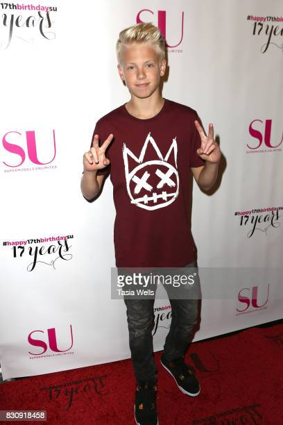 Singer Carson Lueders at SU Magazine's 17th Anniversary Celebration on August 12 2017 in Hollywood California
