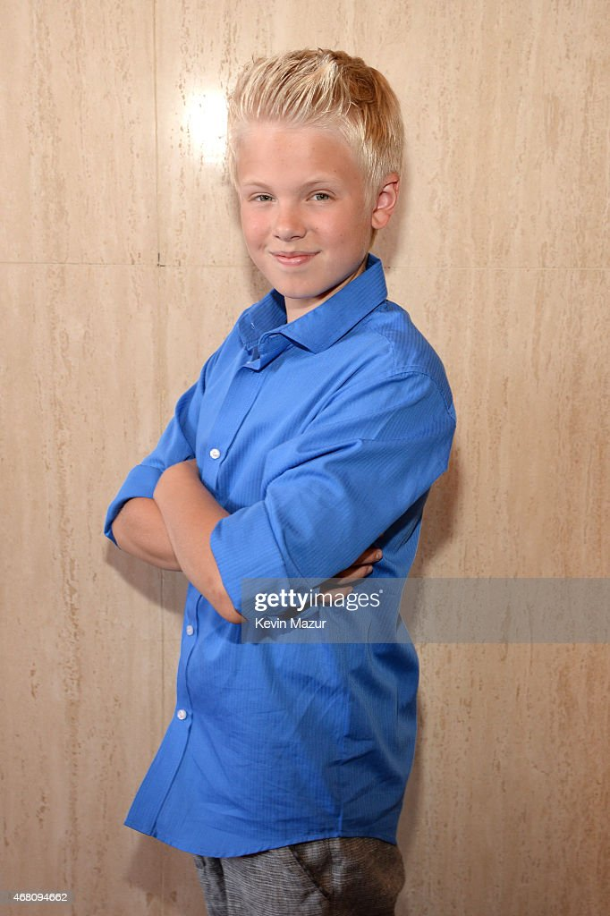 Singer Carson Lueders attends the 2015 iHeartRadio Music Awards which broadcasted live on NBC from The Shrine Auditorium on March 29, 2015 in Los Angeles, California.