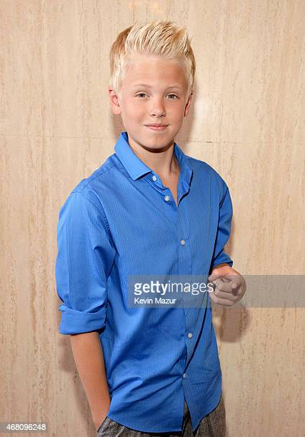 Singer Carson Lueders attends the 2015 iHeartRadio Music Awards which broadcasted live on NBC from The Shrine Auditorium on March 29 2015 in Los...
