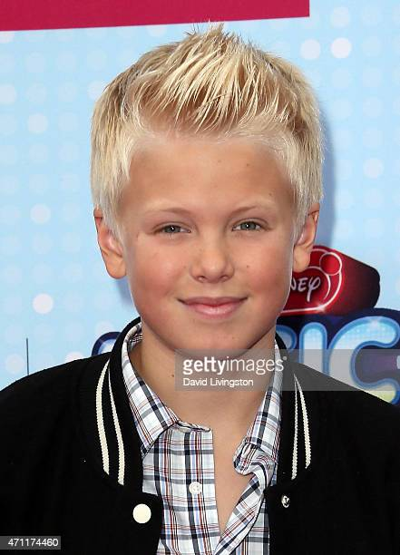 Singer Carson Lueders attends the 2015 Radio Disney Music Awards at Nokia Theatre LA Live on April 25 2015 in Los Angeles California