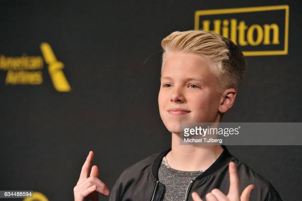 Singer Carson Lueders attends the 2017 Billboard Power 100 Celebration at Cecconi's on February 9 2017 in West Hollywood California