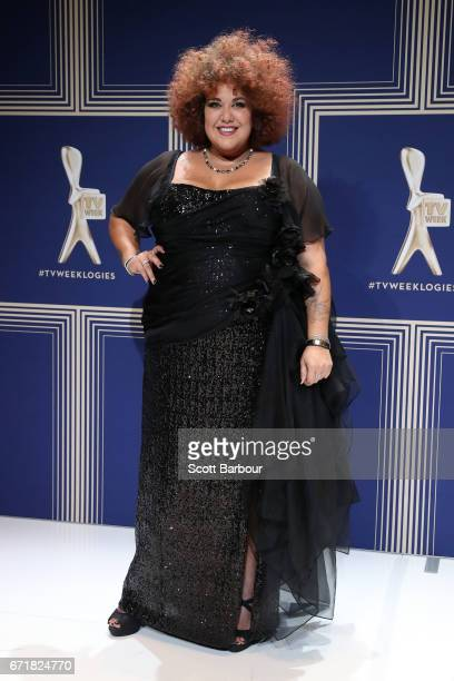 Singer Casey Donovan poses during the 59th Annual Logie Awards at Crown Palladium on April 23 2017 in Melbourne Australia