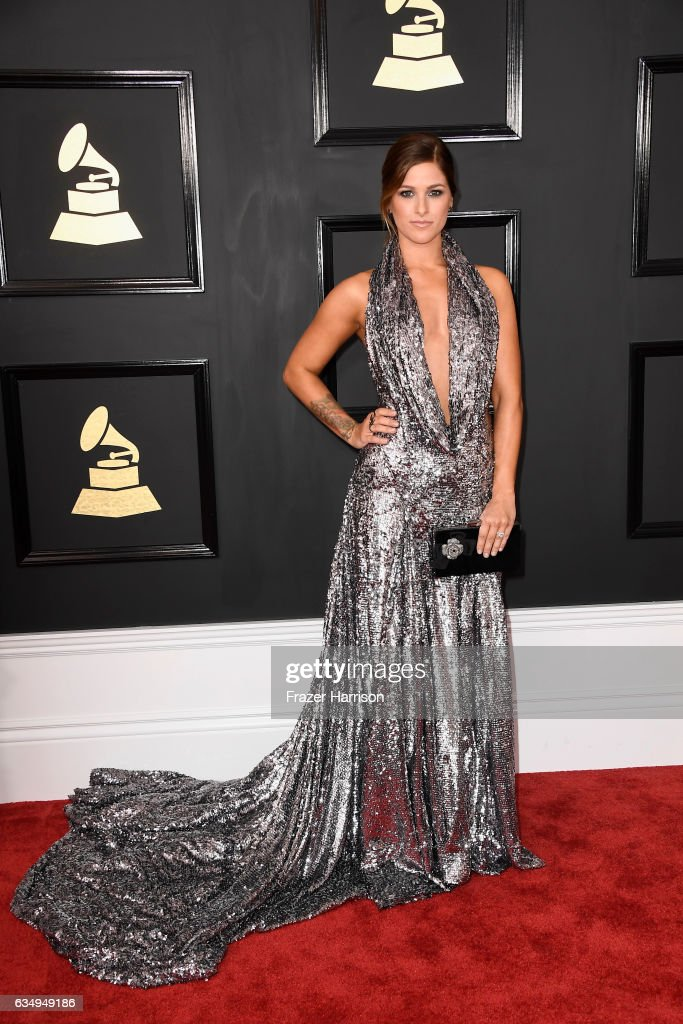 Singer Cassadee Pope attends The 59th GRAMMY Awards at STAPLES Center on February 12, 2017 in Los Angeles, California.