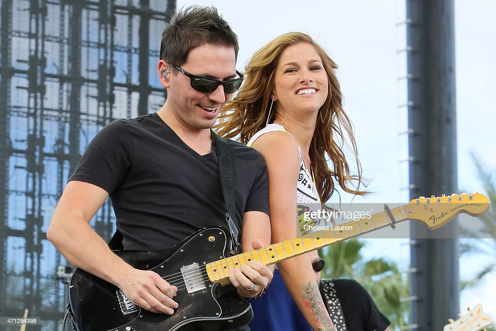 Singer Cassadee Pope performs at the Stagecoach Country music festival at The Empire Polo Club on April 25, 2015 in Indio, California.