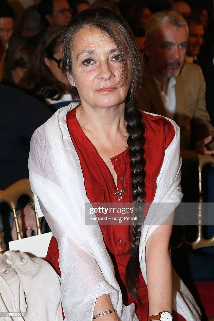 Singer <a gi-track='captionPersonalityLinkClicked' href=/galleries/search?phrase=Catherine+Ringer&family=editorial&specificpeople=4399910 ng-click='$event.stopPropagation()'>Catherine Ringer</a> attends the Jean Paul Gaultier show as part of Paris Fashion Week Haute Couture Fall/Winter 2015/2016 on July 8, 2015 in Paris, France.
