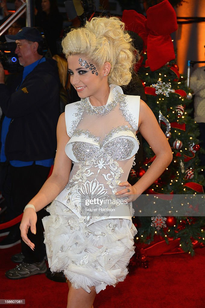 Singer CeCe Frey arrives at Fox's 'The X Factor' Season Finale Night 2 at CBS Television City on December 20 2012 in Los Angeles California