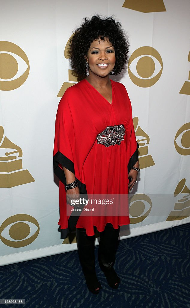Singer CeCe Winans attends 'We Will Always Love You: A GRAMMY Salute to Whitney Houston' at Nokia Theatre L.A. Live on October 11, 2012 in Los Angeles, California.