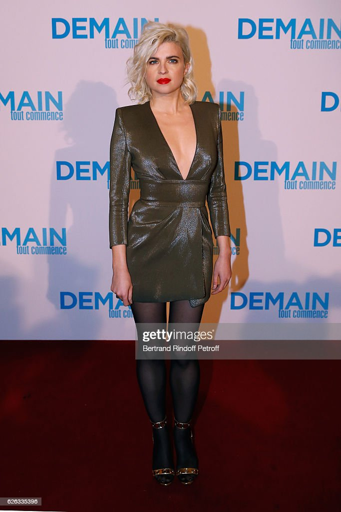 """Demain Tout Commence"" Paris Premiere at Le Grand Rex"
