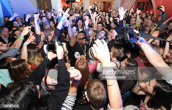 Singer Cee Lo Green performs at Hype Williams After Party at Bing Bar presented by Bing on January 23 2011 in Park City Utah