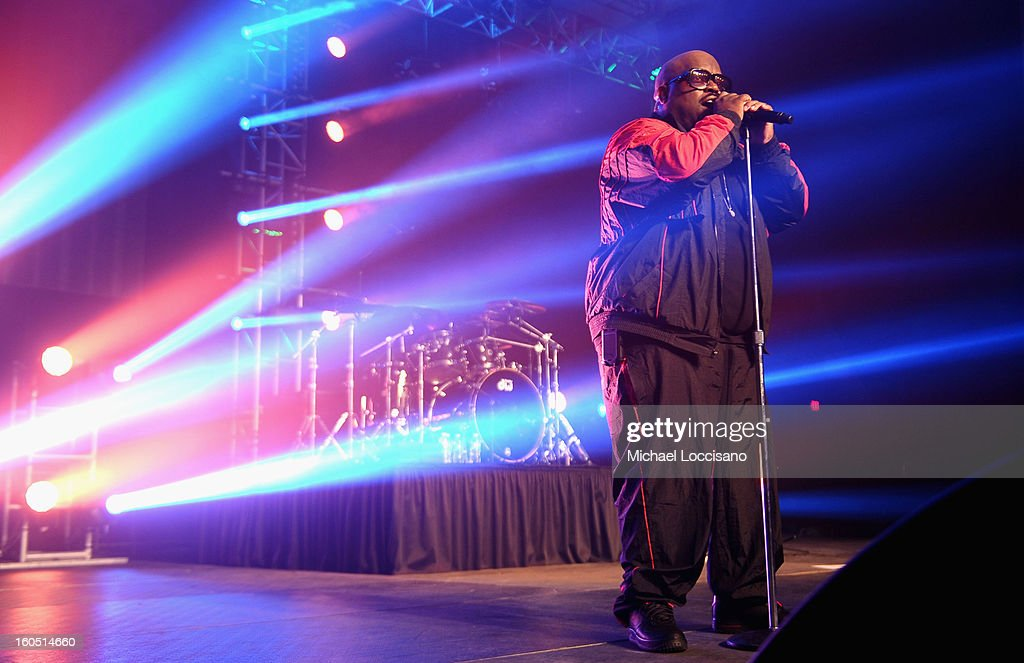 Singer Cee Lo Green performs onstage during ESPN The Magazine's 'NEXT' Event at Tad Gormley Stadium on February 1, 2013 in New Orleans, Louisiana.