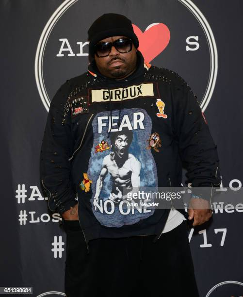 Singer CeeLo Green attends Art Hearts Fashion LAFW Fall/Winter 2017 Day 3 at The Beverly Hilton Hotel on March 16 2017 in Beverly Hills California