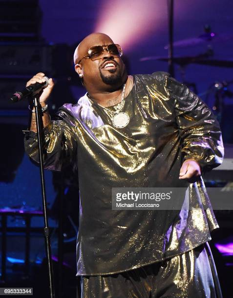 Singer CeeLo Green performs during the Apollo Spring Gala 2017 at The Apollo Theater on June 12 2017 in New York City