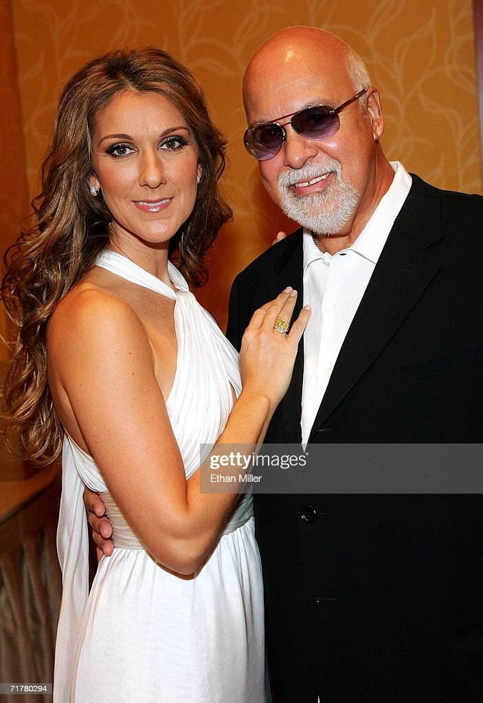 Singer <a gi-track='captionPersonalityLinkClicked' href=/galleries/search?phrase=Celine+Dion&family=editorial&specificpeople=202973 ng-click='$event.stopPropagation()'>Celine Dion</a> and her husband and manager Rene Angelil pose after Dion performed at the 41st annual Labor Day Telethon to benefit the Muscular Dystrophy Association at the South Coast Hotel & Casino September 3, 2006 in Las Vegas, Nevada.