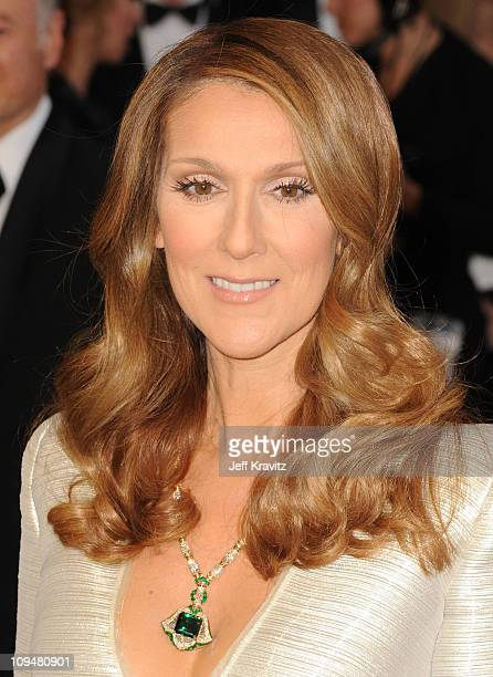 Singer Celine Dion arrives at the 83rd Annual Academy Awards held at the Kodak Theatre on February 27 2011 in Los Angeles California
