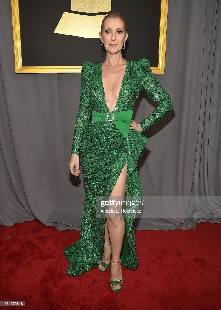singer-celine-dion-attends-the-59th-grammy-awards-at-staples-center-picture-id634975848