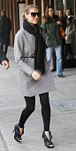 Singer Celine Dion is seen on the streets of Manhattan on December 14 2009 in New York City