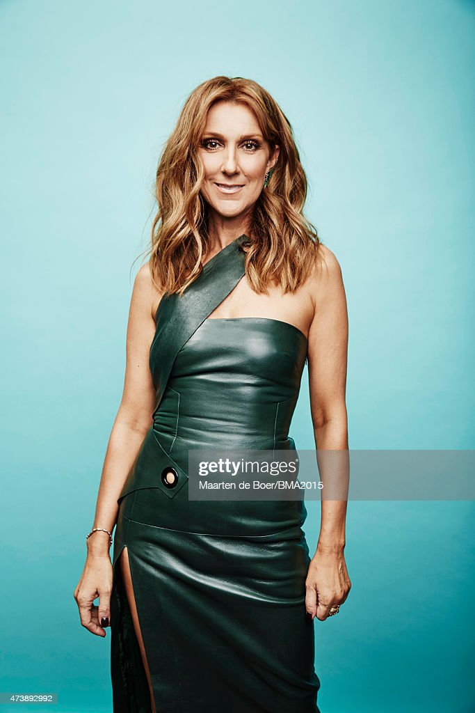 Singer Celine Dion poses for a portrait at the 2015 Billboard Music Awards on May 17, 2015 in Las Vegas, Nevada.