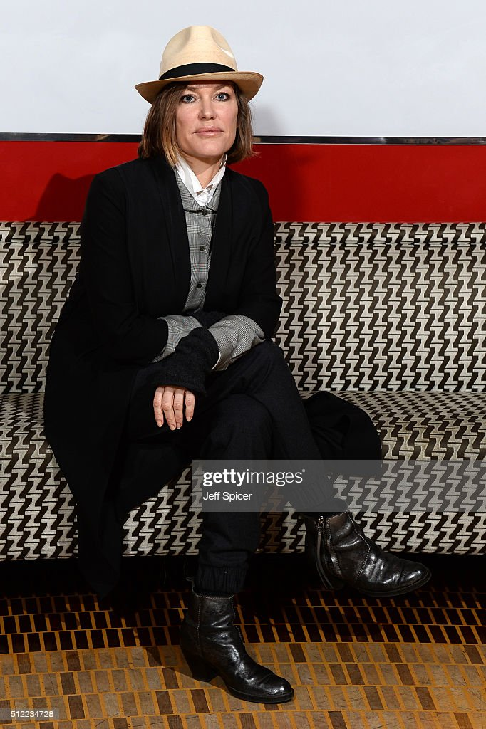 Singer <a gi-track='captionPersonalityLinkClicked' href=/galleries/search?phrase=Cerys+Matthews&family=editorial&specificpeople=1583867 ng-click='$event.stopPropagation()'>Cerys Matthews</a> at the Launch of The Programme For Festival Of Voice Cardiff 2016 at Bar American on February 25, 2016 in London, England.