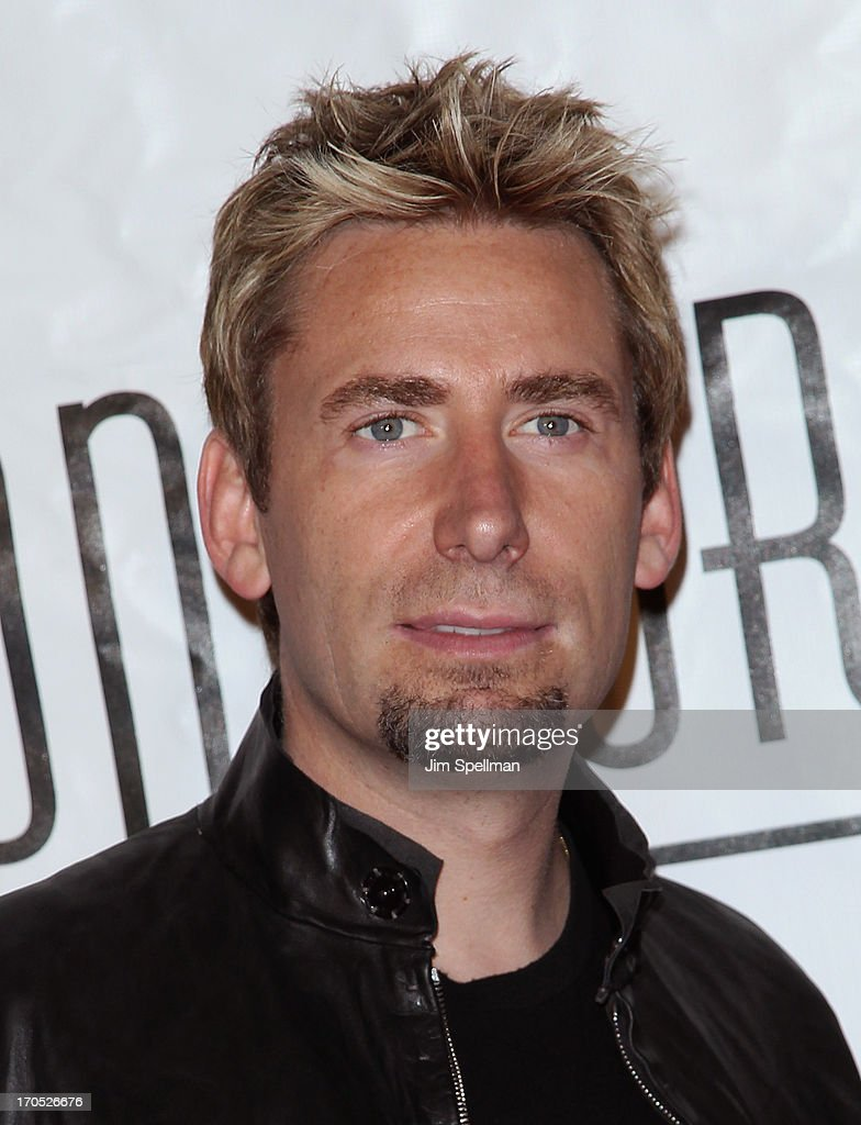 Singer <a gi-track='captionPersonalityLinkClicked' href=/galleries/search?phrase=Chad+Kroeger&family=editorial&specificpeople=193804 ng-click='$event.stopPropagation()'>Chad Kroeger</a> attends the 2013 Songwriters Hall Of Fame Gala at Marriott Marquis Hotel on June 13, 2013 in New York City.