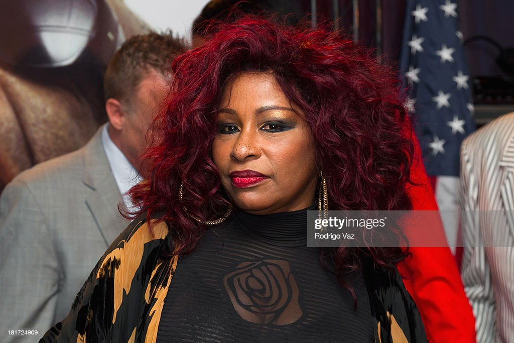 Singer <a gi-track='captionPersonalityLinkClicked' href=/galleries/search?phrase=Chaka+Khan&family=editorial&specificpeople=208691 ng-click='$event.stopPropagation()'>Chaka Khan</a> atends as U.S. Postal Service unveils a Limited-Edition Forever Stamp honoring Ray Charles In Los Angeles at The GRAMMY Museum on September 23, 2013 in Los Angeles, California.