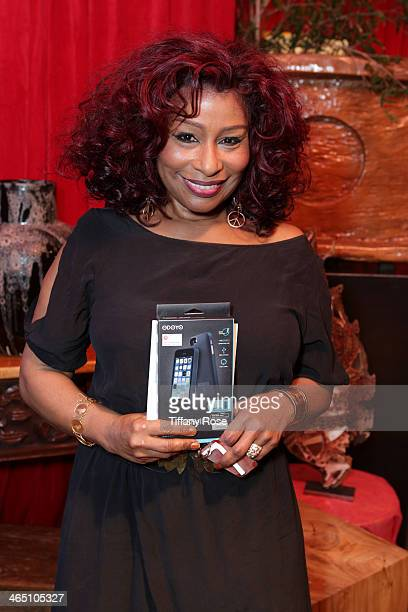 Singer Chaka Khan attends the GRAMMY Gift Lounge during the 56th Grammy Awards at Staples Center on January 25 2014 in Los Angeles California