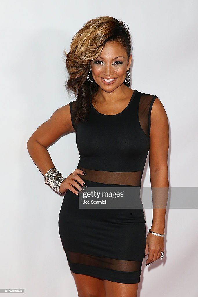 Singer Chante Moore attends the 2013 Los Angeles Police Department South Los Angeles PAAL Awards Gala at Peterson Automotive Museum on November 13, 2013 in Los Angeles, California.