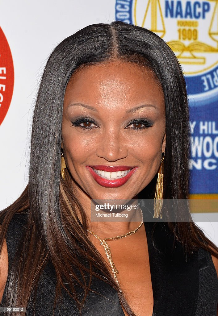 Singer Chante Moore attends the 24th Annual NAACP Theatre Awards at Saban Theatre on November 17 2014 in Beverly Hills California