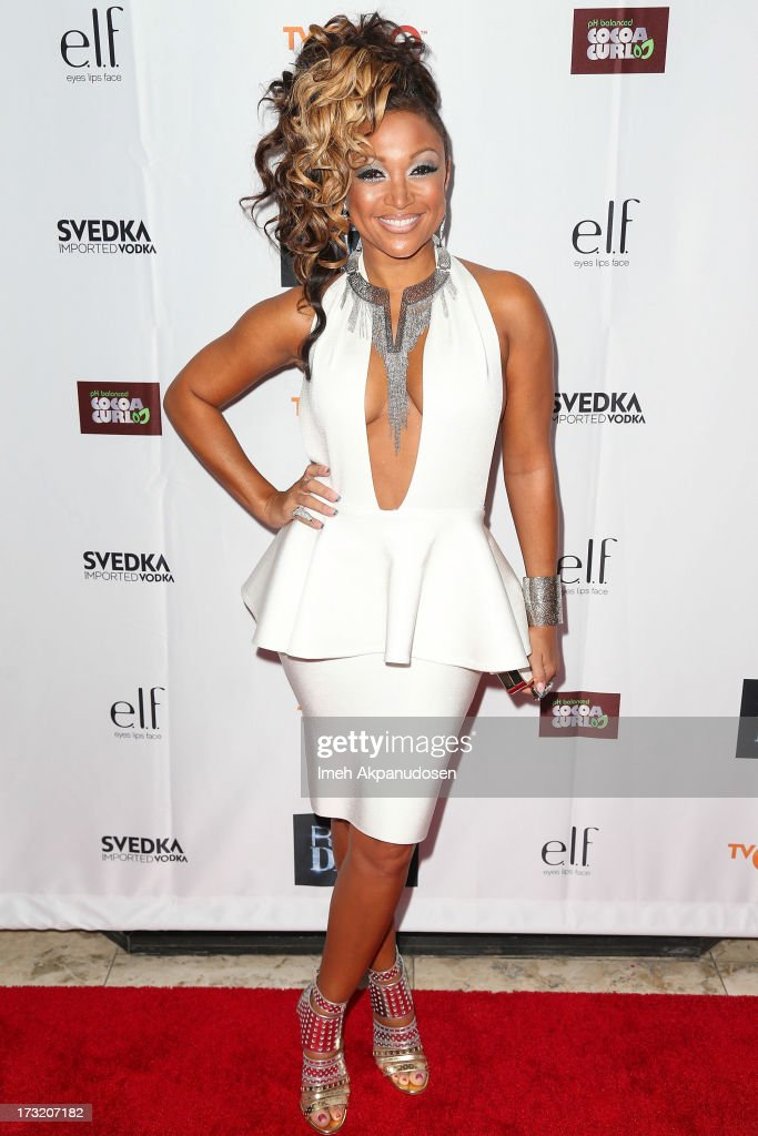 Singer Chante Moore attends the series premiere of TV One's 'R&B Divas LA' at The London Hotel on July 9, 2013 in West Hollywood, California.