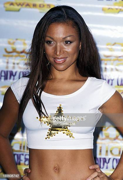 Singer Chante Moore attends the Sixth Annual Soul Train Lady of Soul Awards on September 2 2000 at Santa Monica Civic Auditorium in Santa Monica...