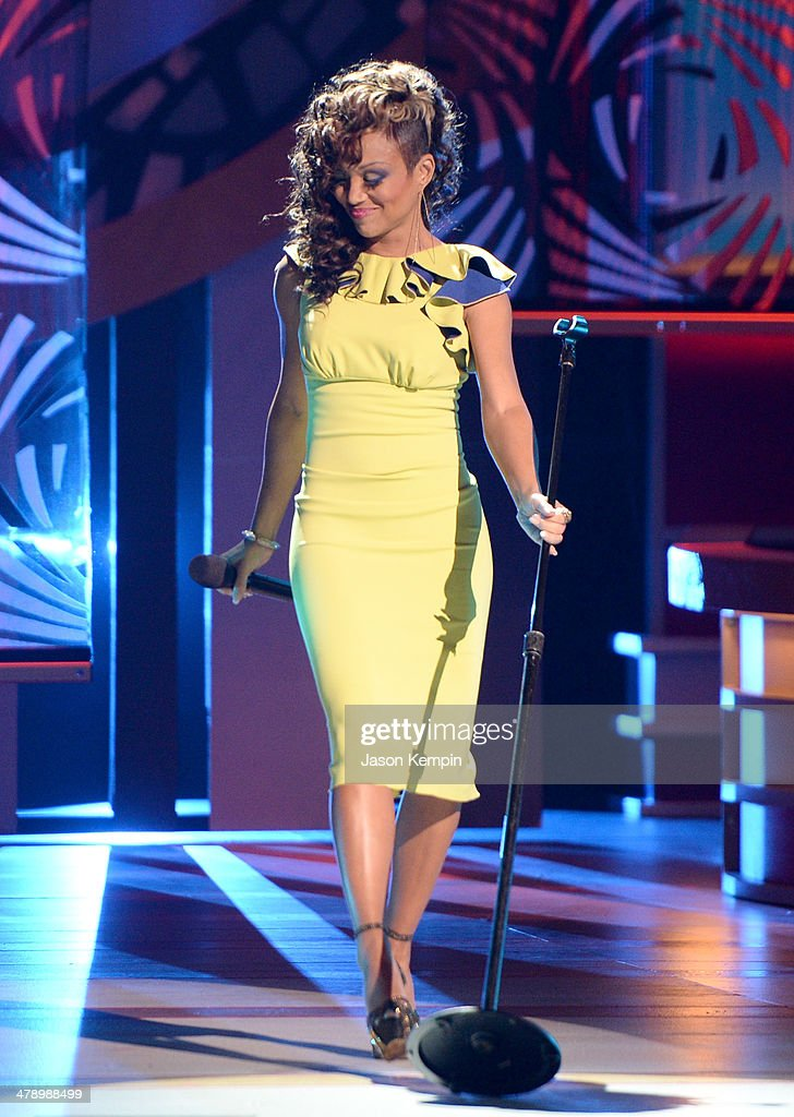 Singer Chante Moore performs onstage during BET Celebration of Gospel 2014 at Orpheum Theatre on March 15 2014 in Los Angeles California