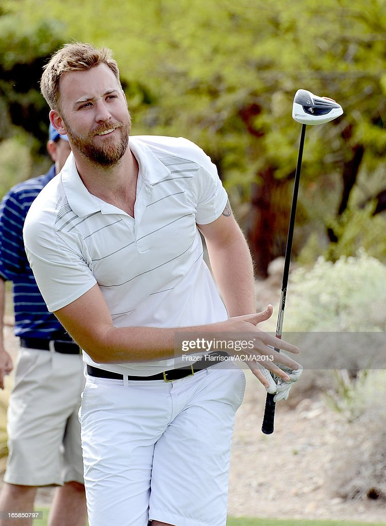 Singer Charles Kelley of Lady Antebellum attends the ACM Lifting Lives Celebrity Golf Classic during the 48th Annual Academy of Country Music Awards at TPC Summerlin on April 6, 2013 in Las Vegas, Nevada.